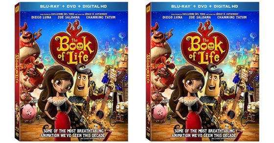 The Book Of Life Blu-Ray  DVD  Digital HD $5.99 (Reg. $9.99)  I love this movie!!  Time for a movie marathon this weekend! Save $4 when you order thisThe Book Of Life Blu-Ray  DVD  Digital HD at Amazon today!  The Book Of Life Blu-Ray  DVD  Digital HD $5.99 (Reg. $9.99)  Ships Free with Amazon Prime (Try a FREE Membership)  Actors: Christina Applegate Ron Perlman Diego Luna Channing Tatum Zoe Saldana  Directors: Jorge R. Gutierrez  Writers: Douglas Langdale  Format: Blu-ray Animated Color…