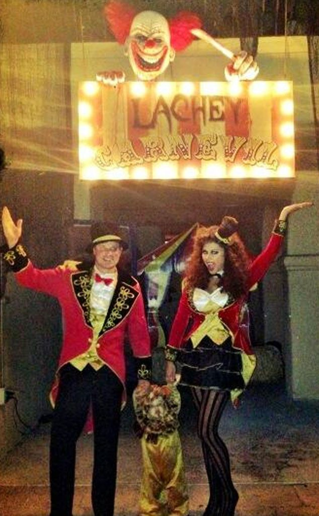Nick, Vanessa and Camden Lachey Dress Up in Carnival Costumes for Halloween—See the Pic!  Nick Lachey, Vanessa Lachey