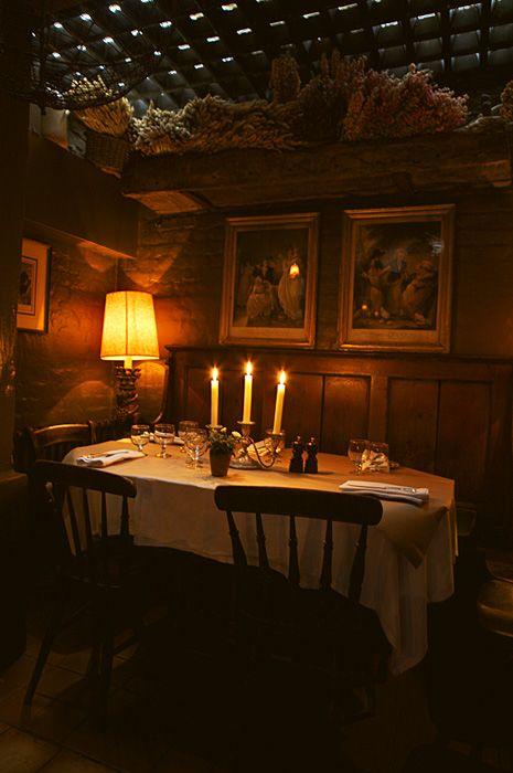 La Poule au Pot (A charming French restaurant in Pimlico near Sloane Square that…