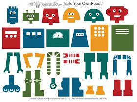 Growing a STEM Classroom: Build Your Own Robot Template