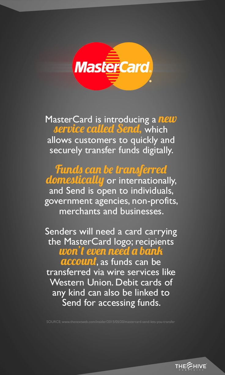 Everyday we are using less cash and more digital transferences and this new Mastercard's service makes it even easier.
