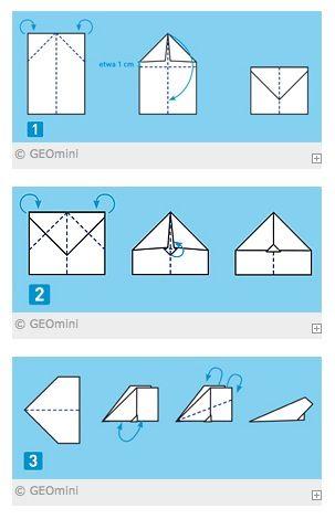 So bastelst du tolle #Papierflugzeuge! Ob Düse, Schwalbe oder Doppeldecker - wir…