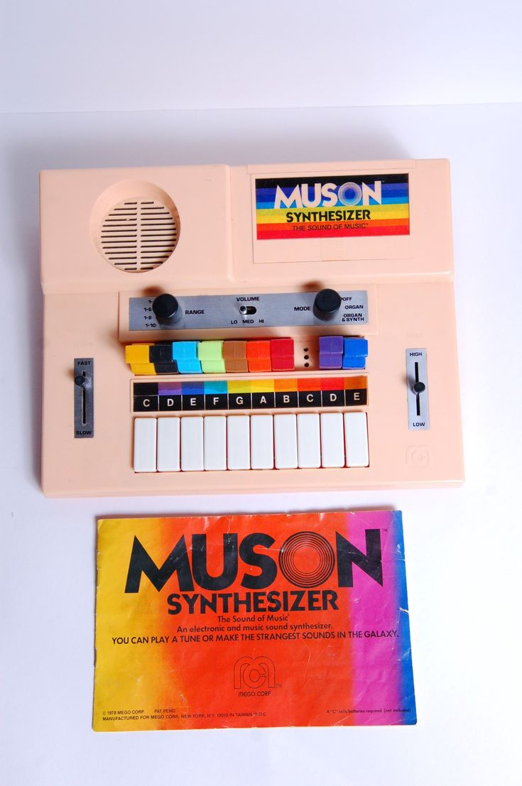Original 1978 Muson Synthesizer Sequencer