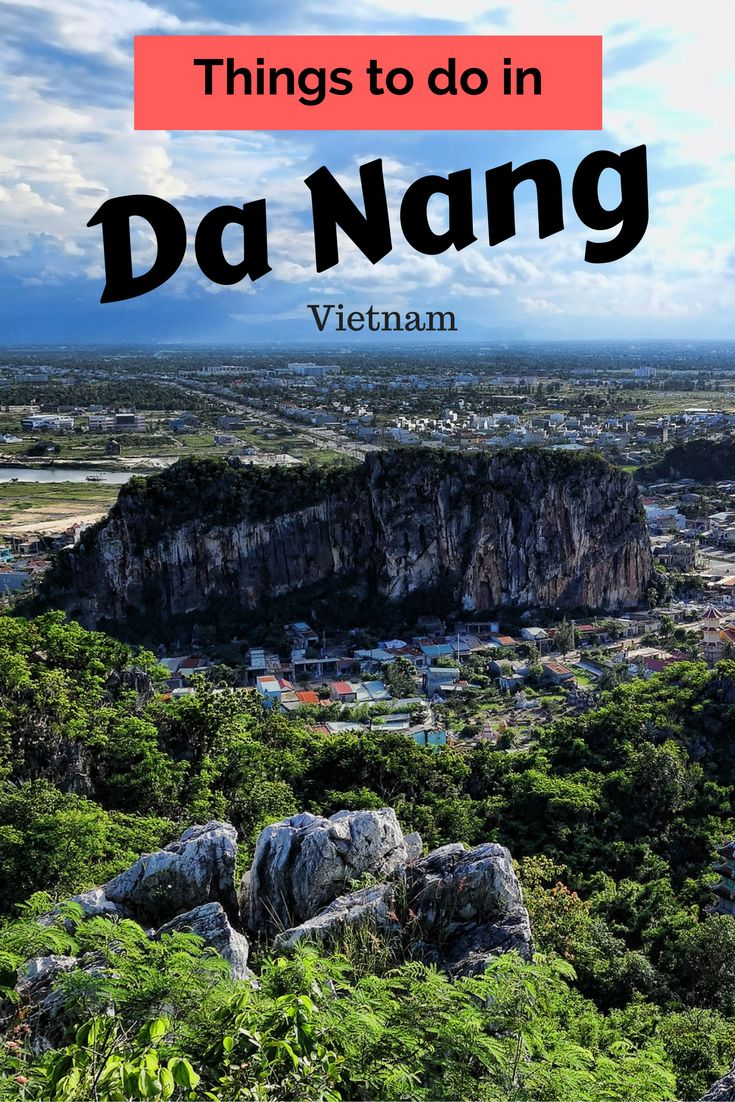 From the beauty of the Marble Mountains to the rugged Son Tra Peninsula, there is plenty of things to do in Da Nang in Central Vietnam. #vietnam #danang #hoian #traveltips #travel