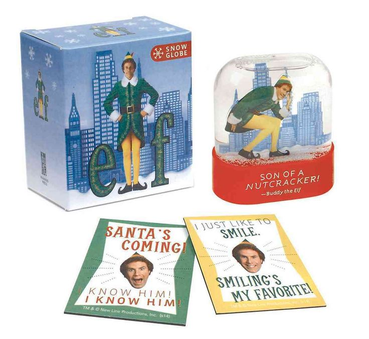 You can't go wrong with a Buddy the Elf snow globe. A gift for any age!
