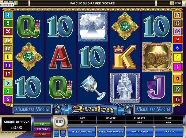 La #slot #machine #online Avalon ha come tema il fantastico mondo di re Artù. http://www.allslotscasino.it/slot-machine-online/avalon.html