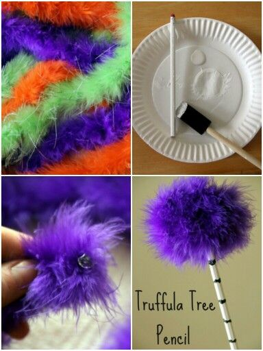 How to make Truffula tree from the Lorax movie