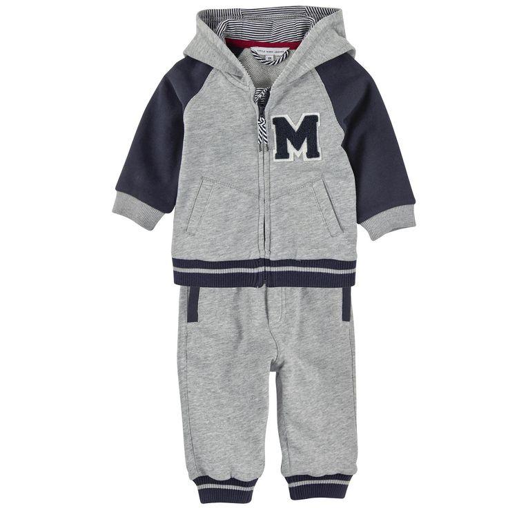 Little Marc Jacobs | Little Marc Jacobs Sweat zippé à capuche et pantalon de…