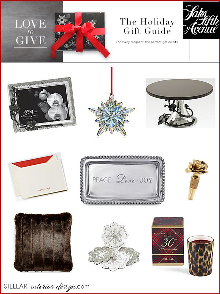 Interior Design Boards Holiday Gift Guide Home Decor Sakes Fifth Avenue Online
