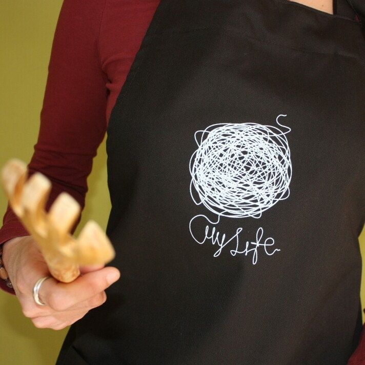 My Life Apron with pockets!