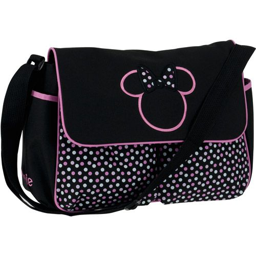 Disney Minnie Mouse Diaper Bag, Multi-Dots: Baby Gear : Walmart.com