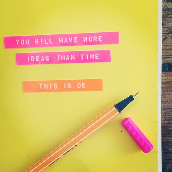 You will have more ideas than time   Growing Spaces