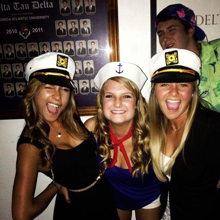 """Get Nauti"" nautical social theme #sorority #mixer"