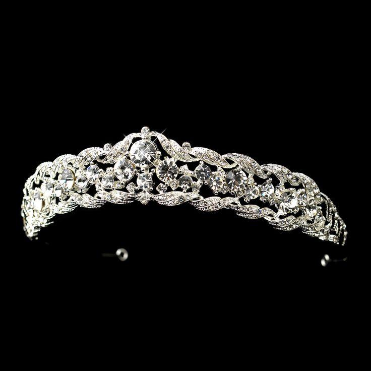 So pretty - Silver Plated Rhinestone tiara