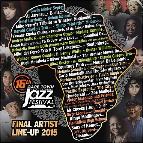 Cape Town International Jazz Festival South Africa music festival