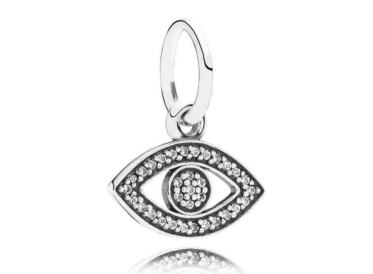 Charm de Prata Símbolo da Intuição - Bem-vindo - Pandora Joias