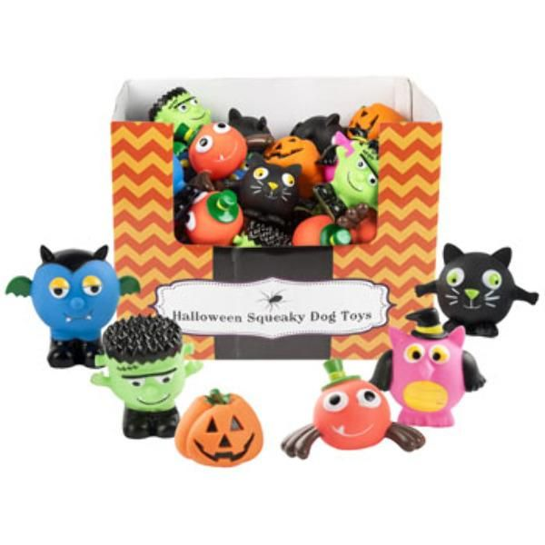 Halloween Dog Toy Case Of 48 Halloween Dog Toys Dog Squeaky