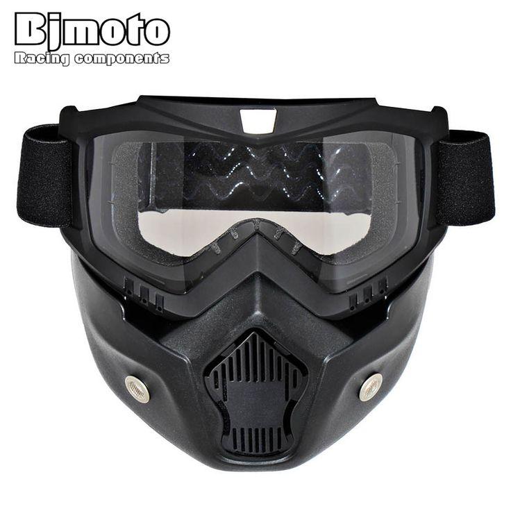 BJMOTO Ski Skate Motorcycle Goggle Motocross Goggles Helmet Glasses Windproof off Road Moto Cross Helmets Mask Goggles