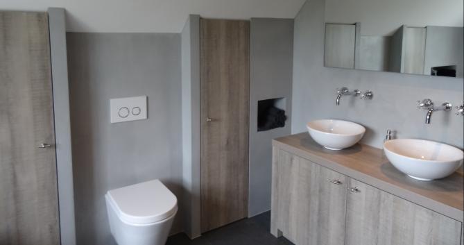 25 beste idee n over gepolijst beton op pinterest - Uitzonderlijke badkamer ...