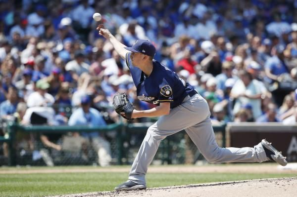 CHICAGO -- The Milwaukee Brewers jumped on two Chicago pitchers in a seven-run third inning and never looked back on the way to an 11-2…