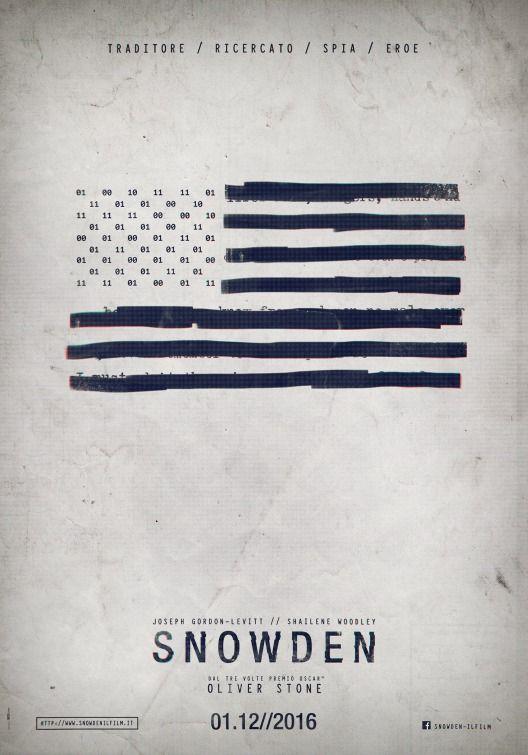 Snowden Movie Poster 2016