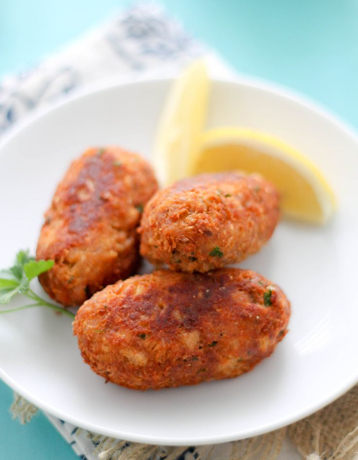 Salmon Croquettes are a quick and easy meal to prepare when in a bind. These are perfect served with rice, on a bun or as an appetizer.