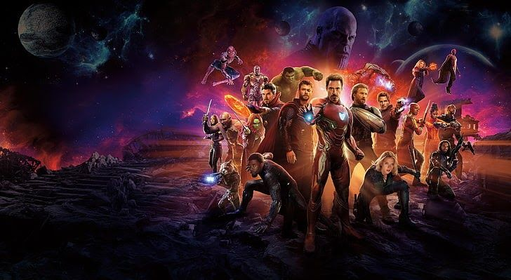 Wallpaper Avengers Infinity War In 2020 With Images Avengers