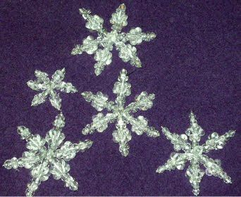 Beaded Snowflake Tutorials for Jewelry Making ~ The Beading Gem's Journal