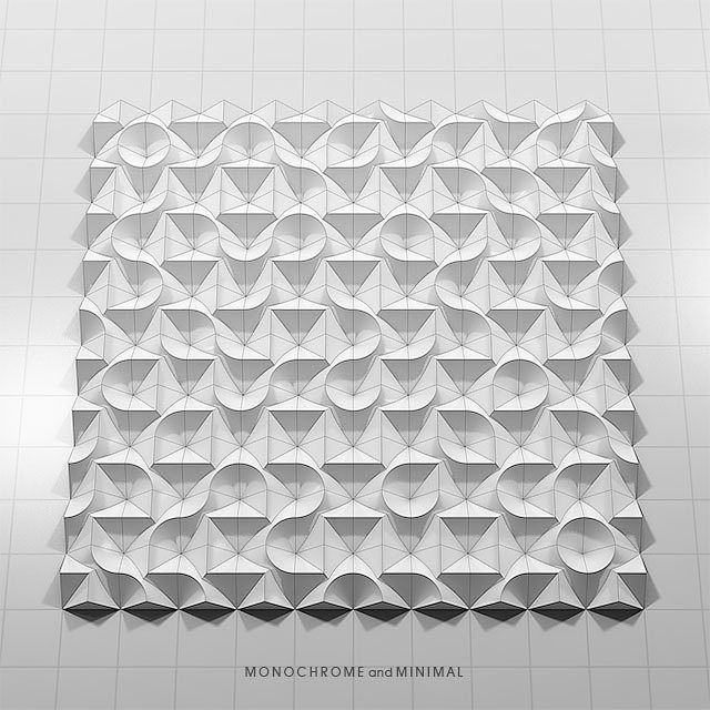 Visualization of permutation 019 by monochromeandminimal   project:pietern. #3d #art #abstractart #bauhaus #constructive #design #absolutekunst #grid #kunst #minimal #minimalart #muster #pattern #pure #white #geometric #kombinatorik #architektur #permutation #konstruktivismus #minimalism #interiordesign #concreteart #visualisation #logic #visual #op #monochromeandminimal #3dminimal #modernart