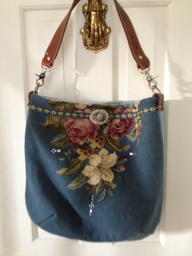 Melody Elizabeth creative bags from recycled materials.