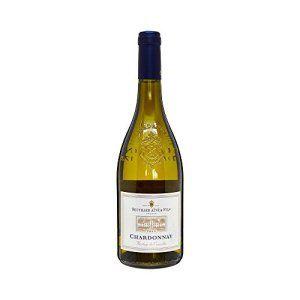 BOUCHARD AINÉ & FILS France Pays d'Oc Vin Blanc IGP Chardonnay 2015 75 cl – Lot de 3