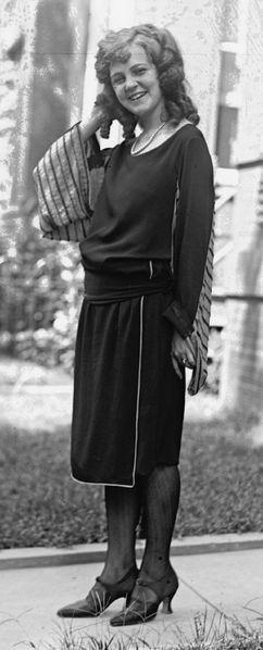 Margaret Gorman, the first Miss America, 1921. Source: Library of Congress