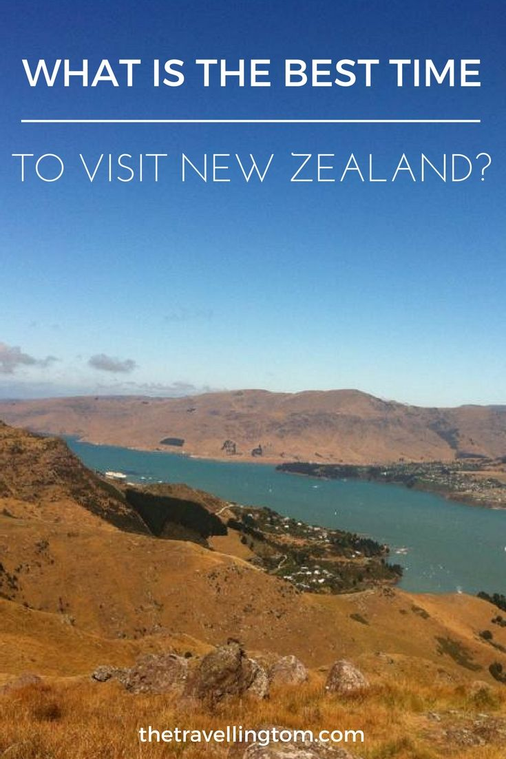 New Zealand is an amazingly diverse location! From the subtropical North Island to the varied landscapes of the South Island. The range of scenery is incredible! This variety can make it difficult to know the best time to visit New Zealand, so if you're planning a trip look no further! I've got you covered!