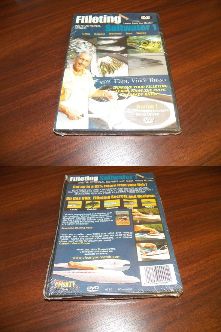 Books and Video 62155: Filleting Saltwater 1 Instructional Fish Fillet Capt Vince Russo Fishing Dvd New -> BUY IT NOW ONLY: $79.95 on eBay!