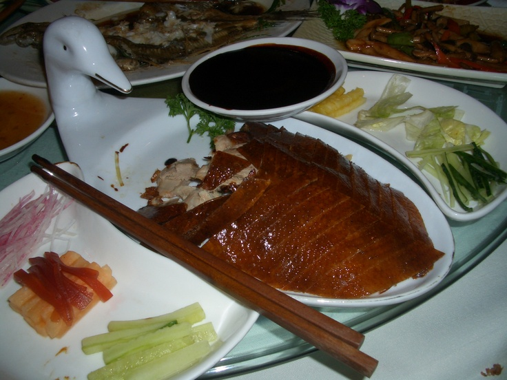 Gastronomia china-Pato a la pekinesa