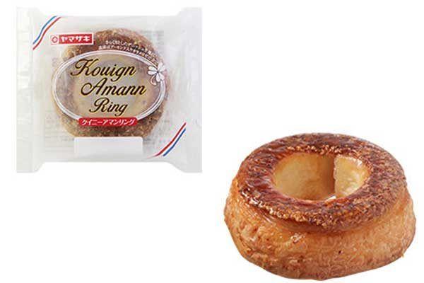 【香ばしリング】山崎製パンから「クイニーアマンリング」が新発売!  12月の新商品です♪ #山崎製パン #ヤマザキパン #クイニーアマン #リング #菓子パン
