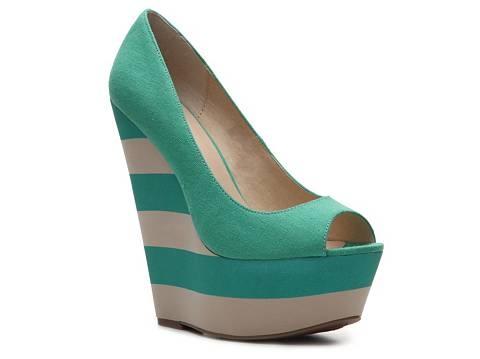 Zigi Soho Pizzazz Wedge Pump Peep Toes Pumps & Heels Women's Shoes - DSW
