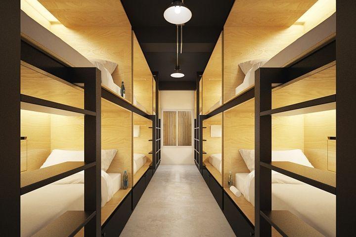 Ora Hostel by Sea Architecture, Bangkok – Thailand » Retail Design Blog