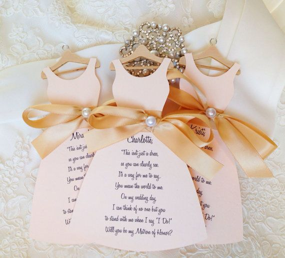 Will you be my bridesmaid cards wedding by TakeitPersonallybyM