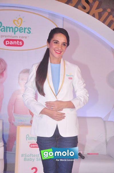 Tara Sharma at Pampers event at JW Mariott Sahar Hotel in Andheri, Mumbai