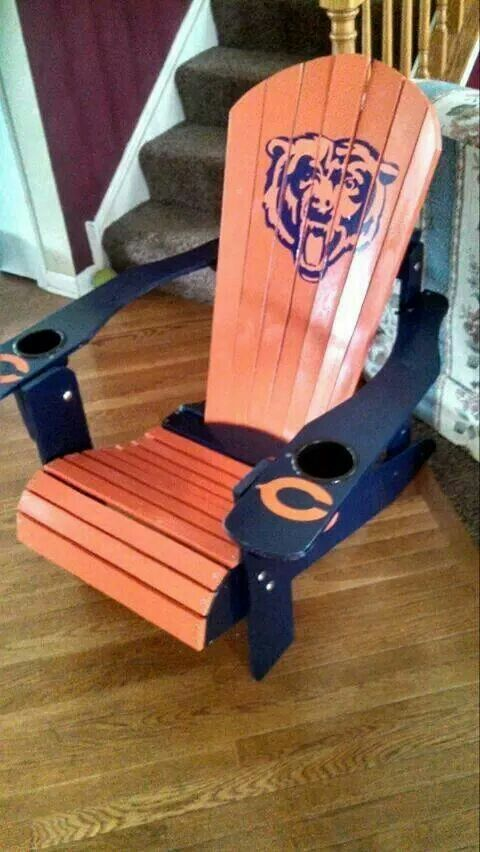I Bet Greg Could Make This For Me! Chicago FootballBears ...