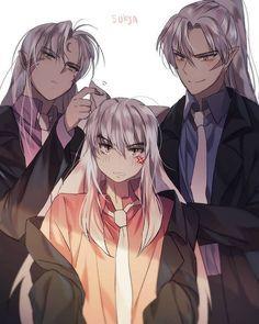 Ugh talk aboli my first anime that made me fall in love with anime. Inuyasha, Sesshomaru, Inu no Taisho