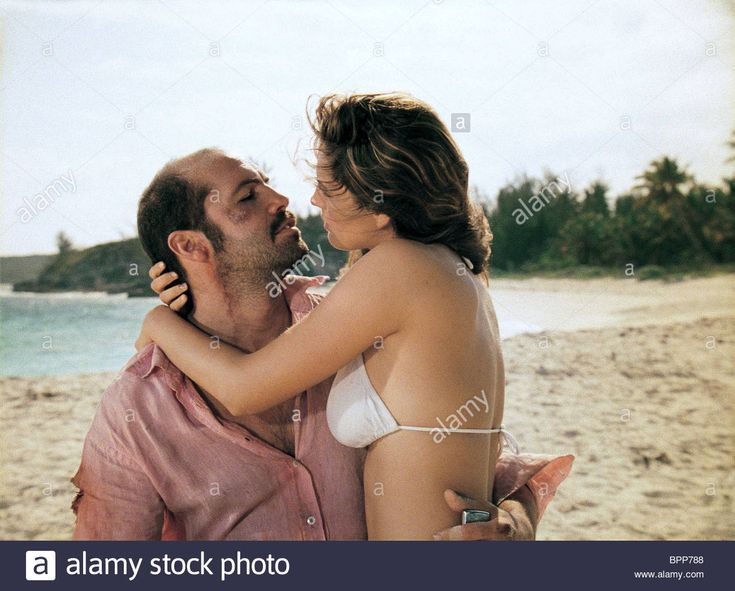 BILLY ZANE & KELLY BROOK THREE; 3; SURVIVAL ISLAND (2005) Stock Photo