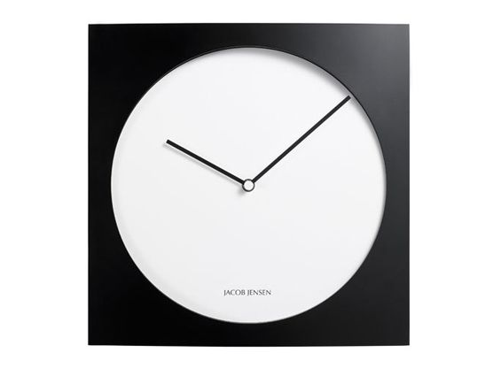 jacob jensen wall clock products i adore pinterest. Black Bedroom Furniture Sets. Home Design Ideas