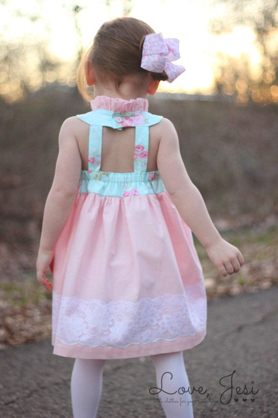 Girls Easter Dress Clothes for Baby Girls Spring by LoveJesi