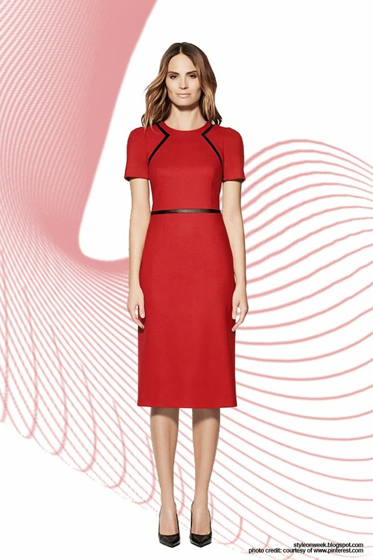 "Simple Pieces for Your Office Wardrobe Update. Denmark Dress. A red dress exudes confidence, and a certain ""I don't care if people notice"" kind of 'tude. Be the talk of the holiday work party with a festive dress worthy of the mistletoe. Denmark Dress, $460 at Judith & Charles."