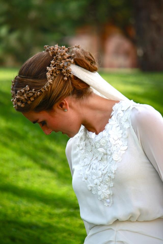 Helena Mareque vestido de novia