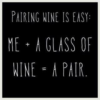So easy! Wine Pairing!!