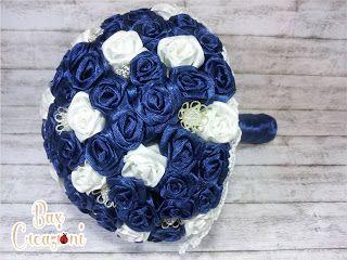 Ribbon roses aternative bouquet