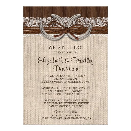 17 Best Images About Wedding Vow Renewal Invitations On Pinterest